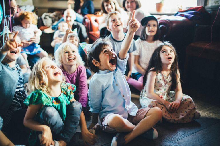 Children's Birthday party photographer london