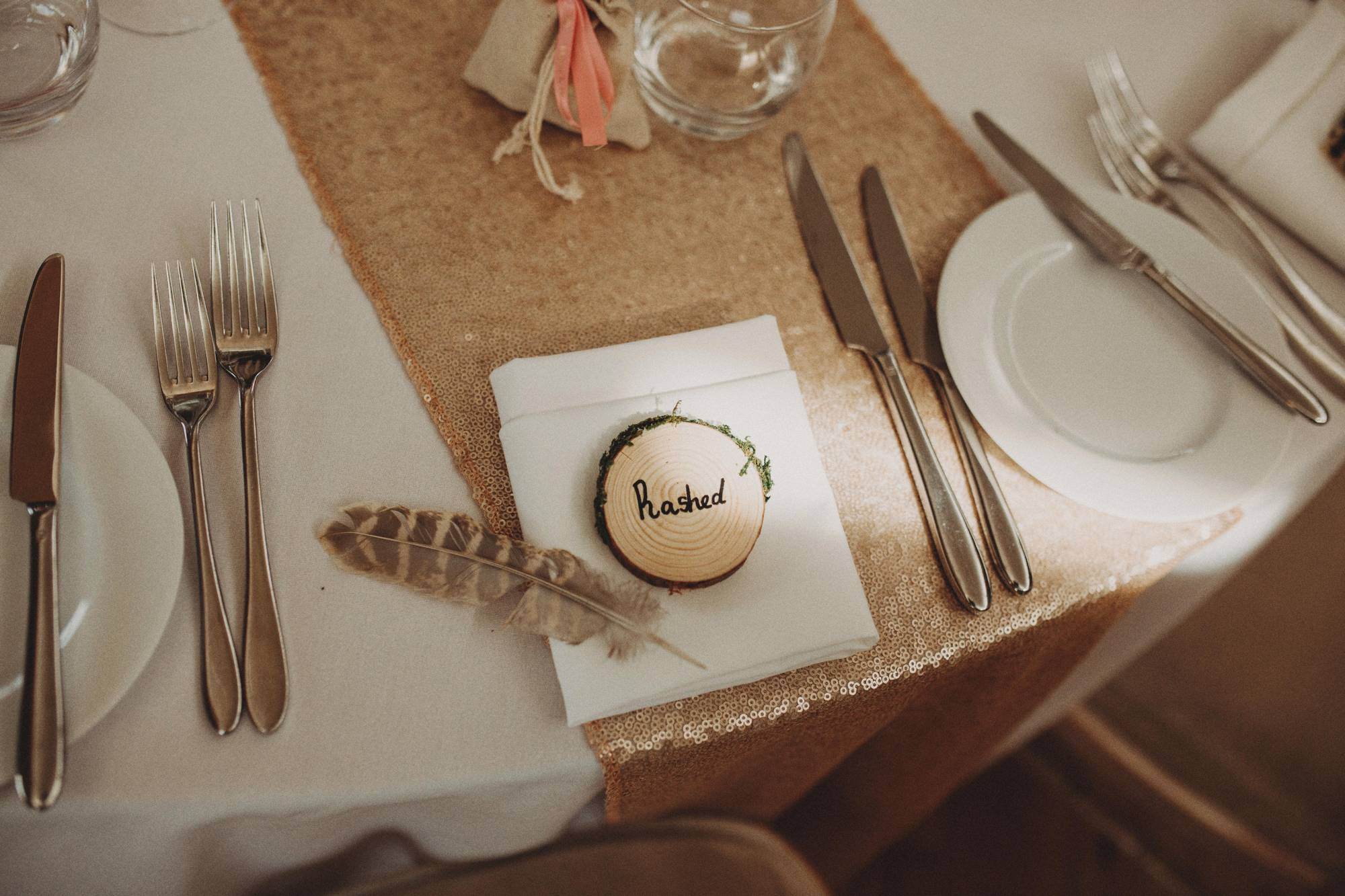 table setting at elmore court
