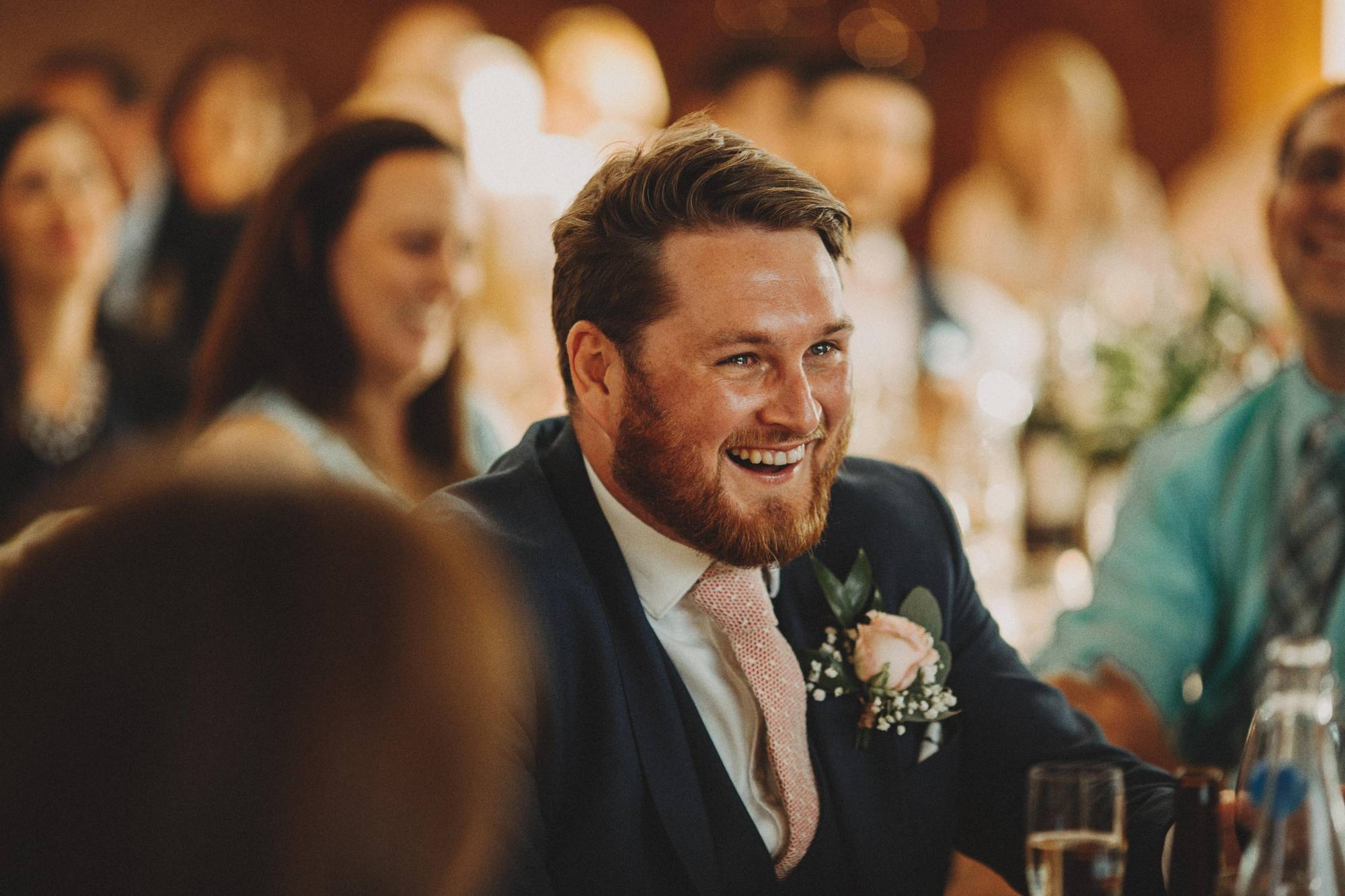 best man laughing at elmore court