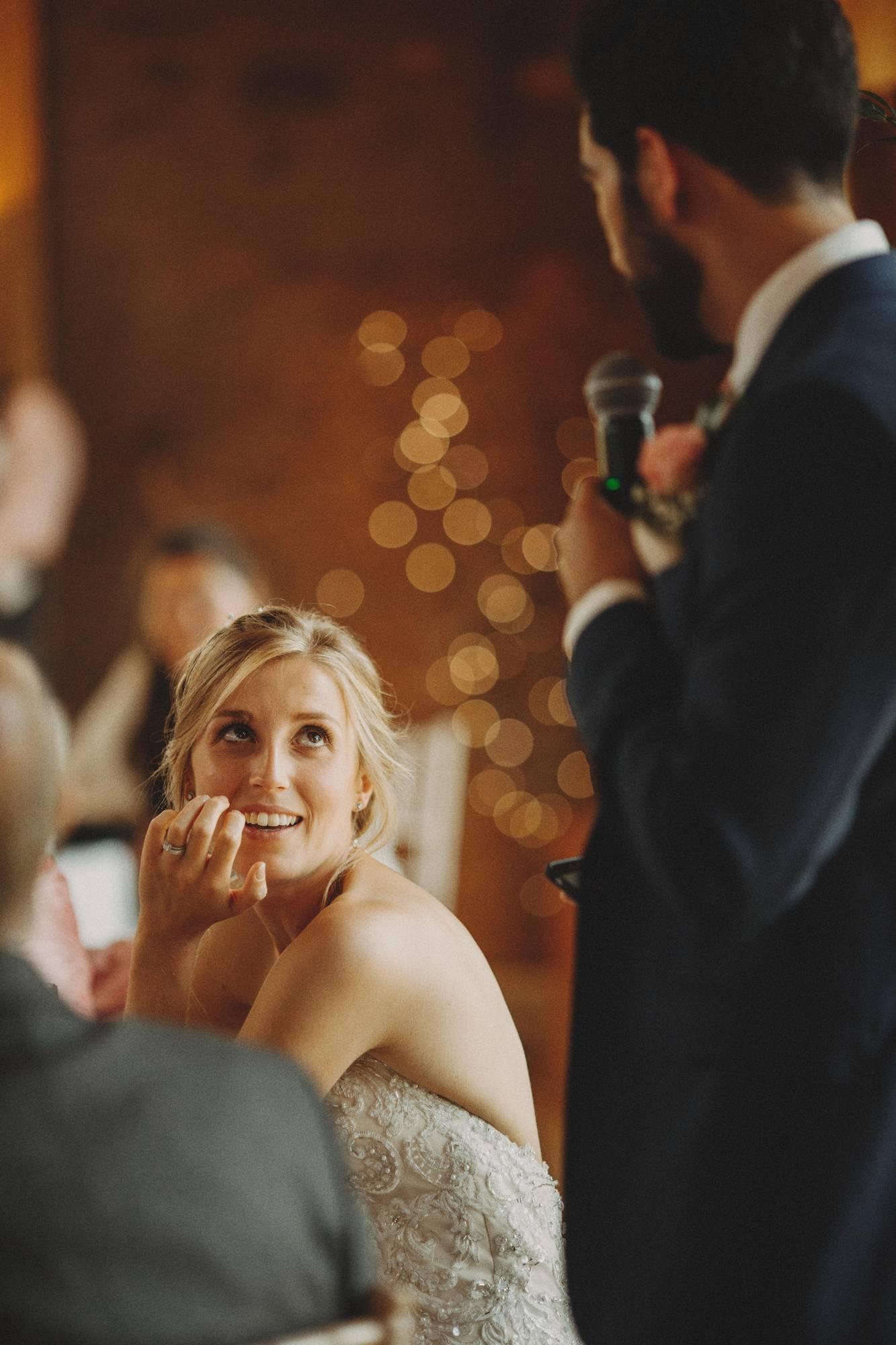 grooms speech at elmore court wedding